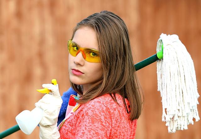 איך לשמור על ניקיון הבית ועל בריאות ילדכם